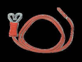 Przewód łączący plecionkę i taśmę (do 20 mm) z elektryzatorem