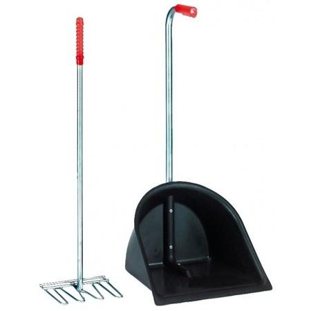 Zestaw do sprzątania Mistboy, czarny, 75,cm