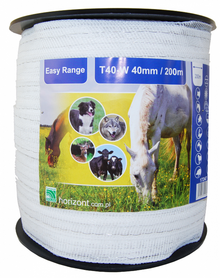 Taśma do pastucha 200m 40 mm