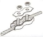 Złączka do plecionek i drutu