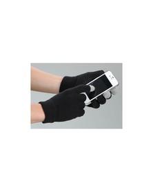 Rękawiczki jeździeckie MagicTouch, czarne